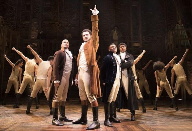 Hamilton, Victoria Palace Theatre